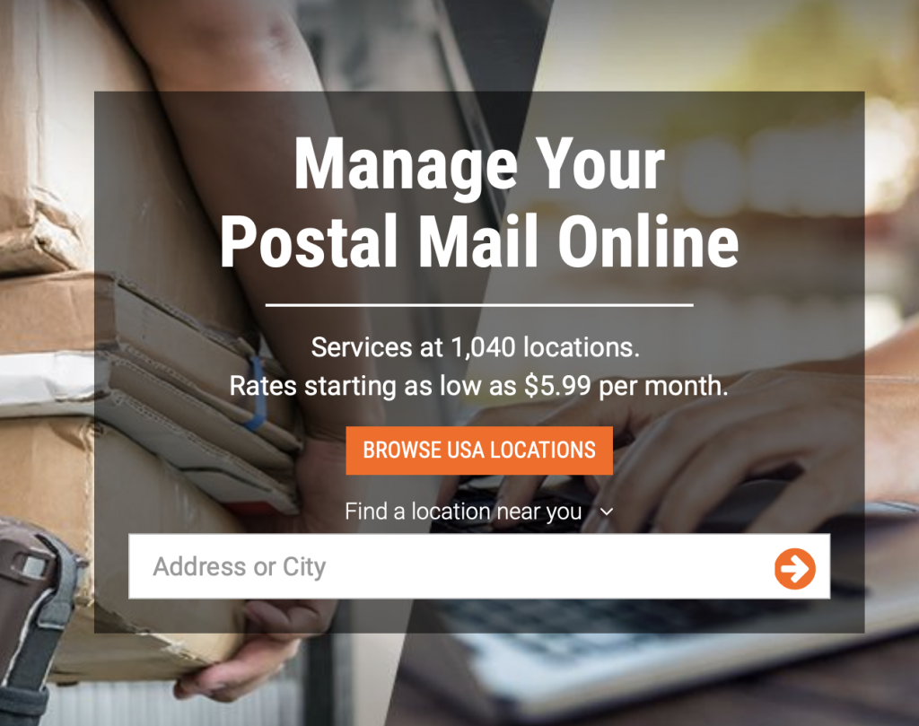 Anytime Mailbox Online Mail Service