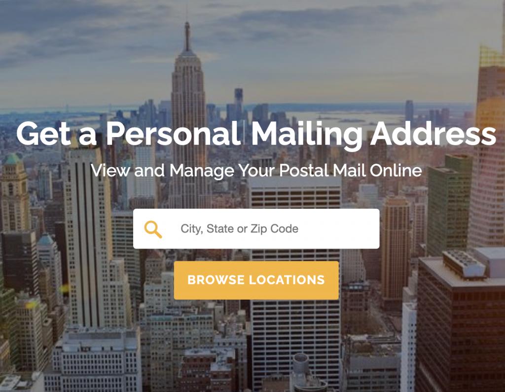 PostScan Mail forwarding service