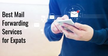 Mail forwarding services for expats